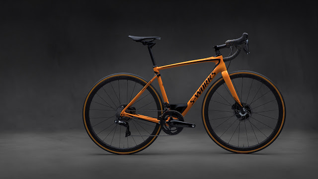 Specialized developed a New S-Works Roubaix in celebration of McLaren Automotive