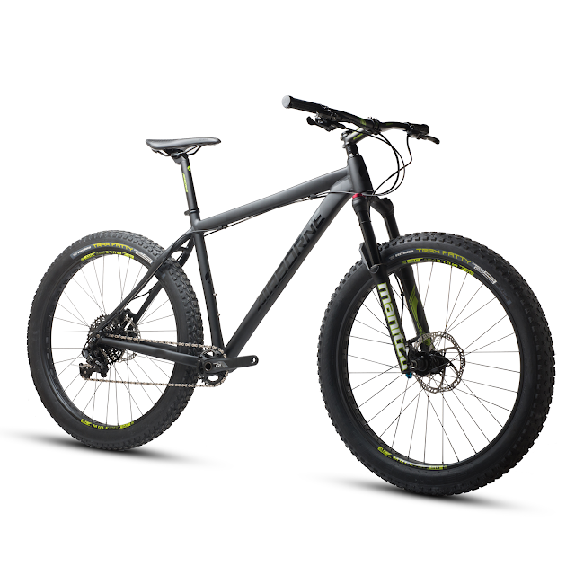 Black on black. Presenting the Airborne Griffin Stealth 27.5+