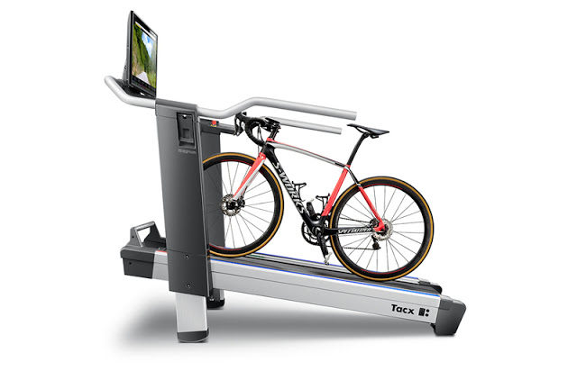 New Magnum Smart Trainer and Bike Treadmill from Tacx