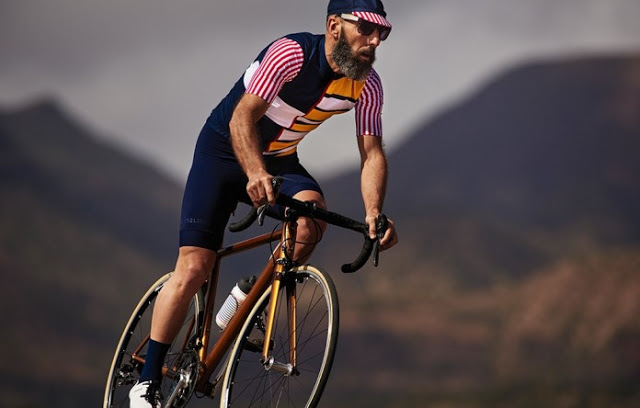 Men's Limited Edition Riviera Jersey from Café du Cycliste
