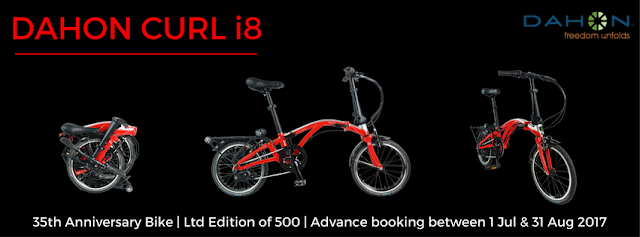 35th Anniversary Dahon Curl i8 Now Available for Pre-Order