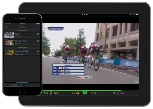 Kinetic Fit Adds YouTube Playlists to iOS App