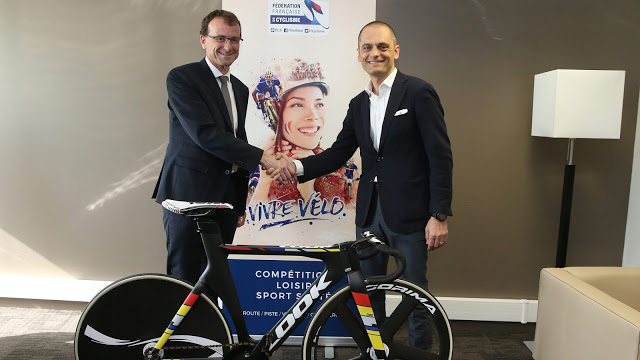 Partnership between LOOK and the French Cycling Federation