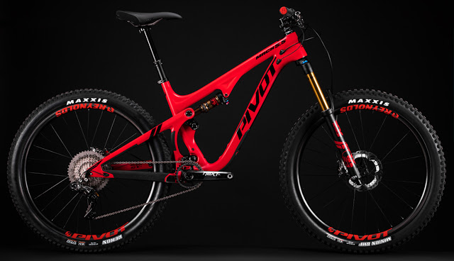 Pivot Cycles launched the New Mach 5.5 Carbon Bike