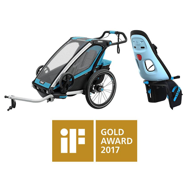 Thule wins two iF Gold Awards 2017 for outstanding design