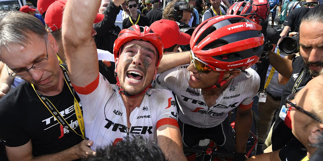 John Degenkolb takes an emotional and dramatic victory at the Tour de France