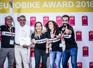 Rotor wins Gold Award INpower in Eurobike 2018