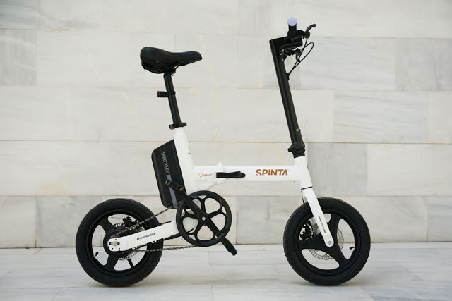 Here it is, the New Spinta Urbano Electric and Foldable Urban Bike