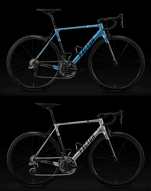 Introducing the Factor O2 Champs-Élysées and O2 Bardet both Limited Edition