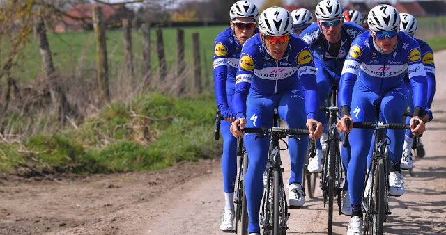 Quick-Step Floors Cycling Team to the Tour de France