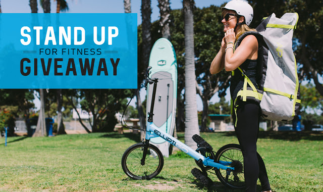 ElliptiGO and ISLE Stand Up For Fitness with SUPs and SUBs