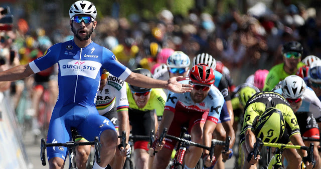 Sparkling Gaviria powers to second Tour of California stage win