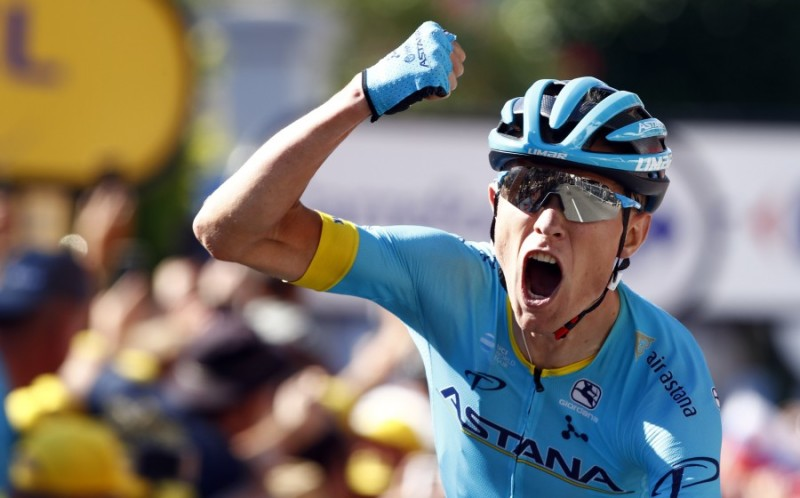 Tour de France. Stage 15. Magnus Cort brings Astana second in a row in Carcassonne