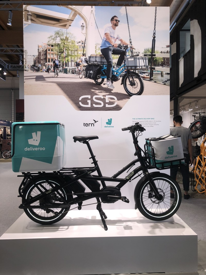 Tern and Deliveroo to Test eBike for On-Demand Delivery