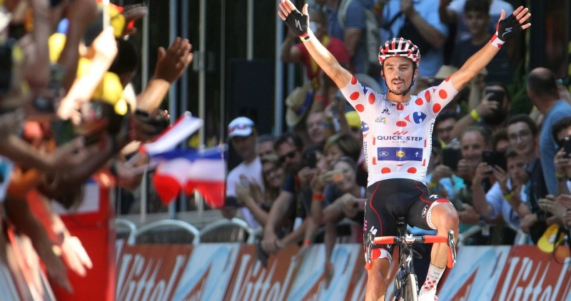 Tour de France: Alaphilippe solos to victory in the Pyrenees