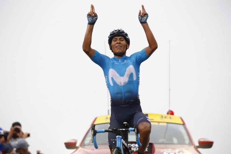 Nairo Quintana claims second career Tour de France stage win
