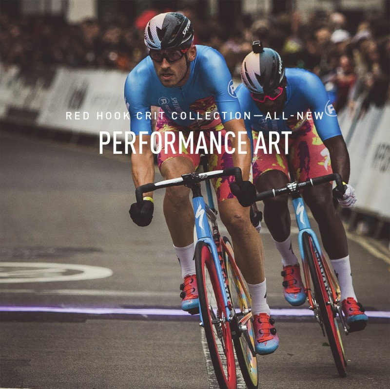 When contemporary art and cycling's most exciting form of racing come together, you get something special - The New Red Hook Crit Collection