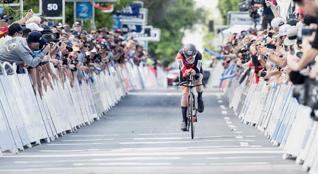 Van Garderen Secures Victory on Stage 4 in California to Take Control of the GC