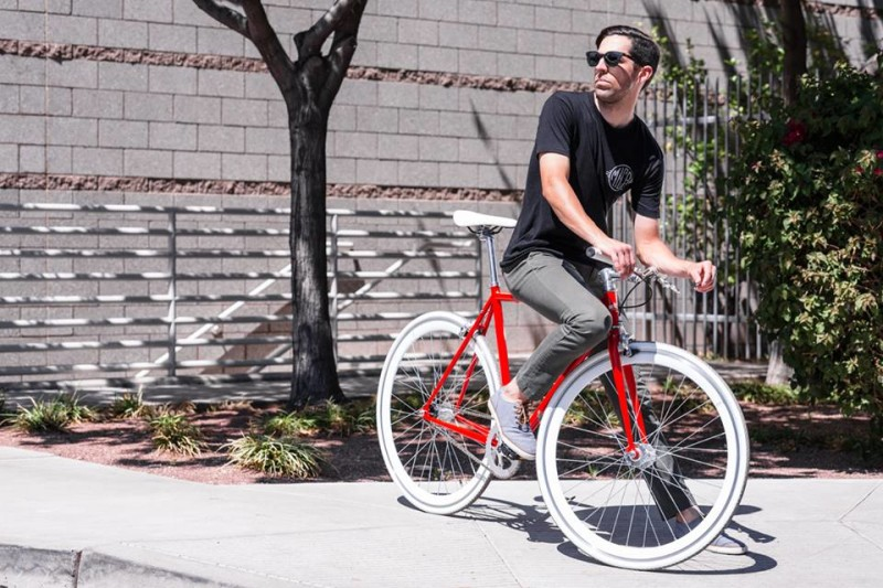 The New Hanzo Urban Fixed Gear Bike from State Bicycle