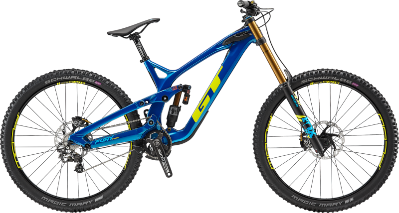 The All New 2019 Fury Downhill Bike from GT Bicycles
