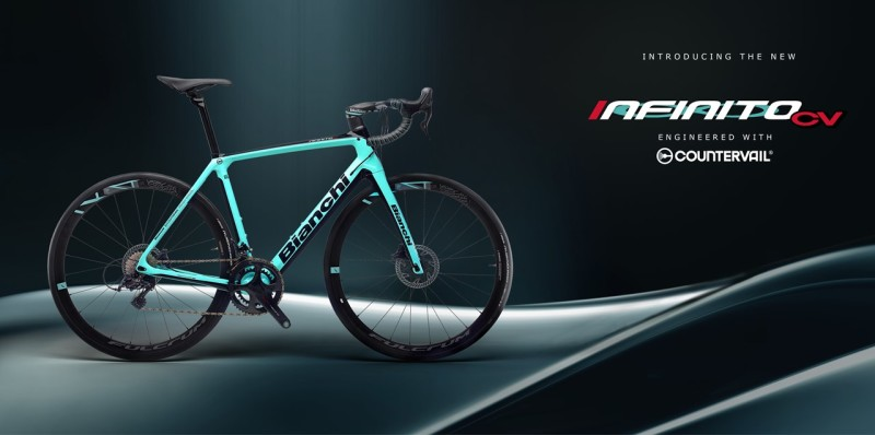 No vibrations, plenty of braking power. You are going to love the New Bianchi Infinito CV Disc!