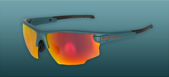 New Endura SingleTrack Glasses with Revo, Orange and Smoke lenses