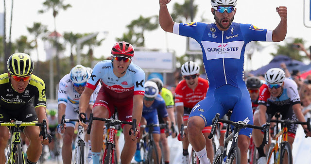 Fernando Gaviria enjoys perfect Tour of California debut