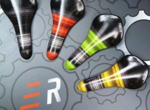 "Repente presents a ""painted"" version of its carbon ultralight Saddles"