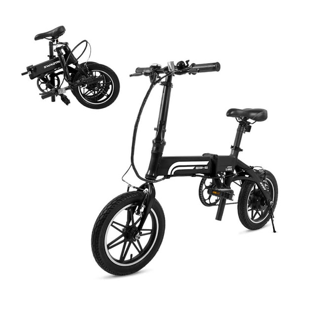 Swagtron EB-5 Electric Folding Bike - The Next Generation Urban Commuter