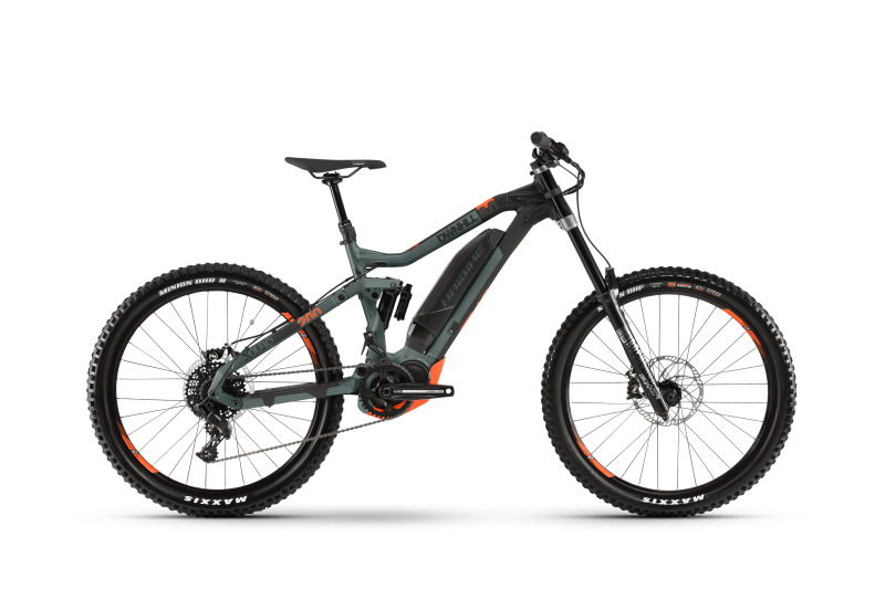 The All New 2019 Haibike Xduro Dwnhll 8.0
