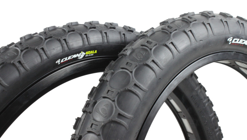 New Clean Trials Koala Tires