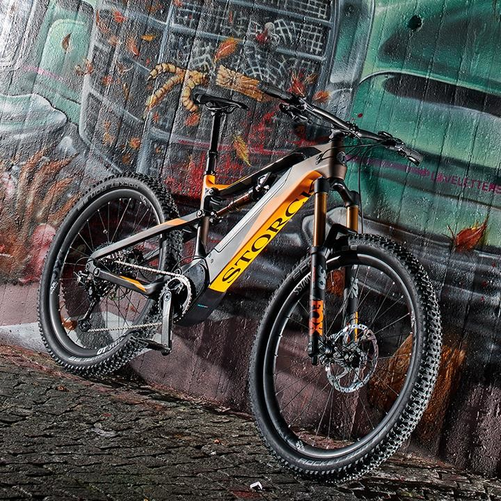 Storck dropped their New Electric MTB, the e:drenalin CMF