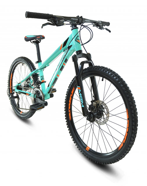 "Megamo Bicycles presented their New KU4 24"" MTB for Kids"