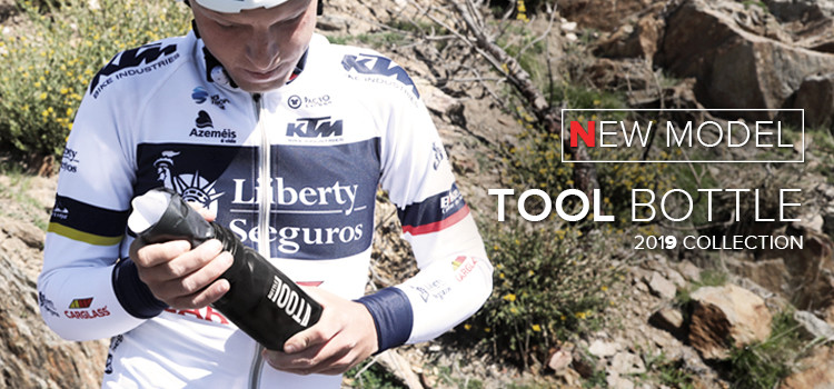 New Tool Bottle - 2019 Polisport Collection