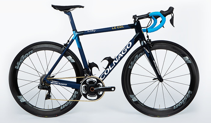 Le Col x Colnago C64. Understated Style. Exceptional Performance