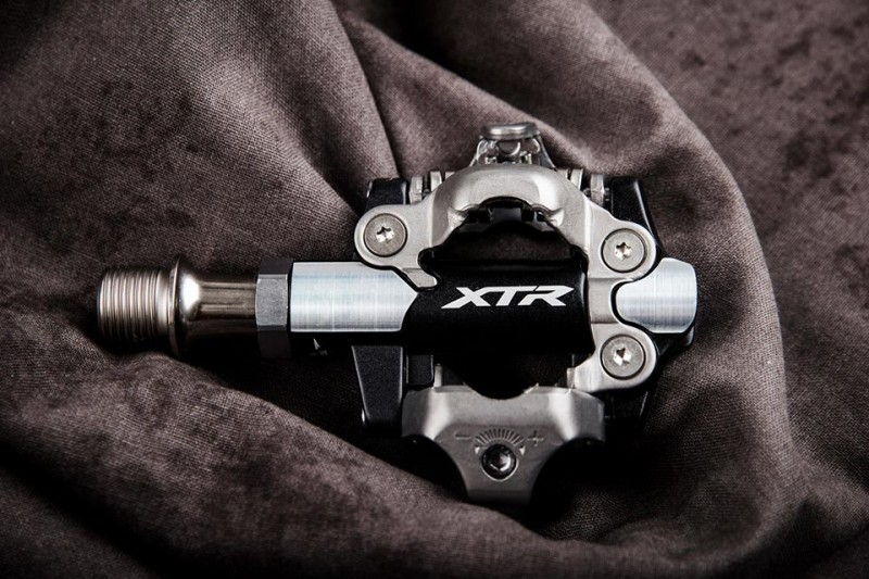 New and Available Now, Shimano XTR M9100 XC Race Pedals