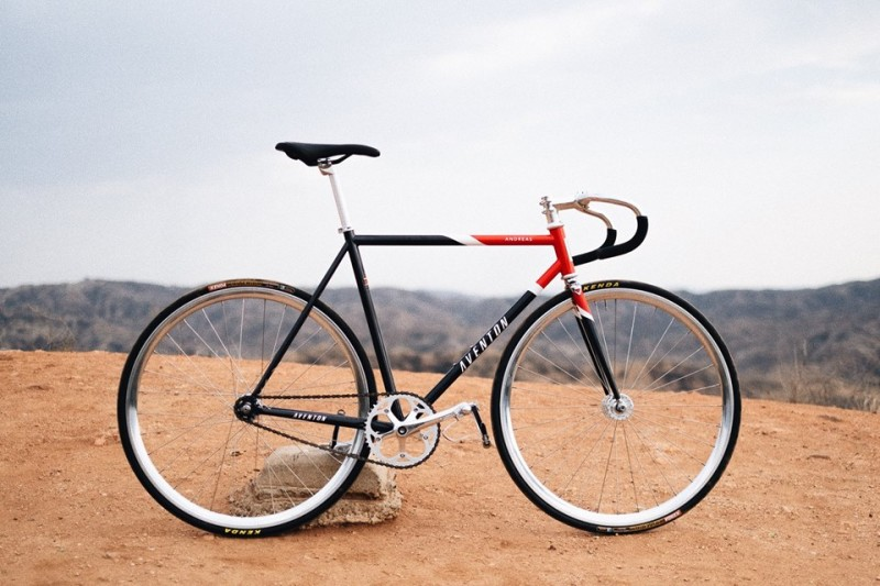 Aventon Bikes announced Limited Edition Fixed Gear Bike Andreas