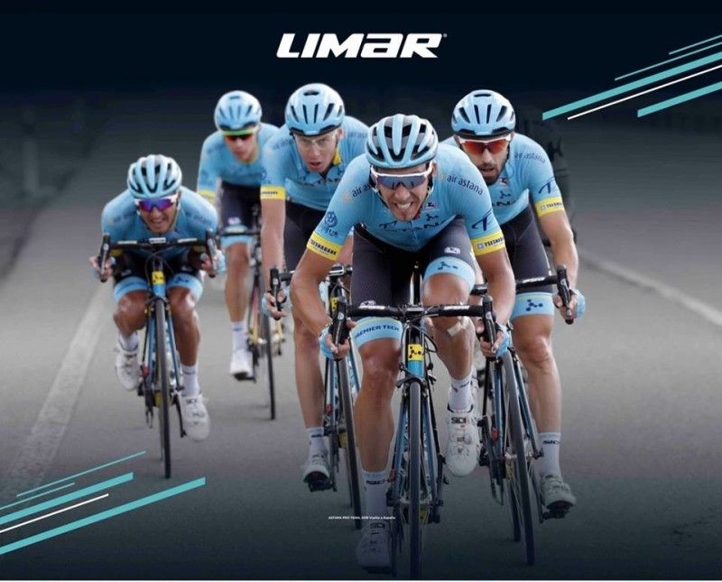 Limar renewed Astana Pro Team's Sponsorship