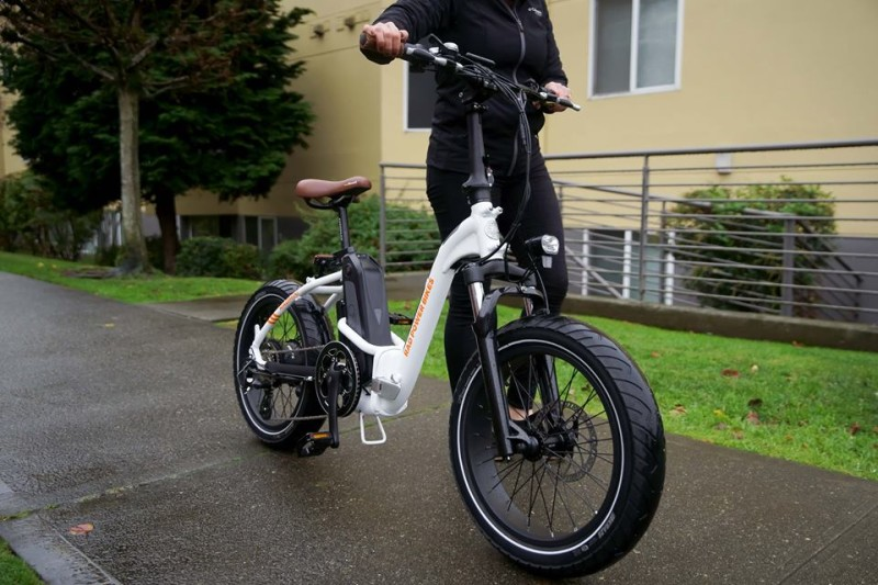The 2019 RadMini and RadMini Step-Thru Electric Folding Fat Bikes