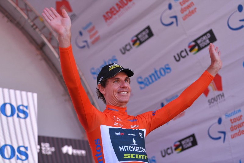 Impey becomes first male to win back-to-back titles at Tour Down Under