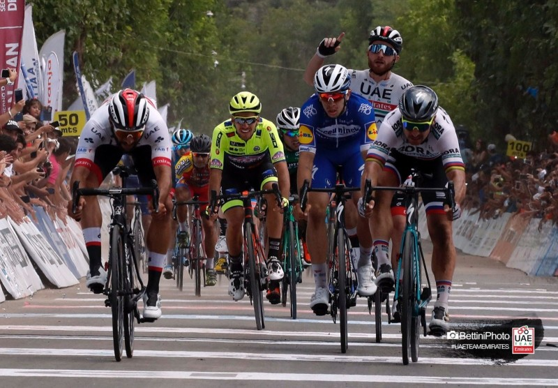 Gaviria doubles up in Argentina