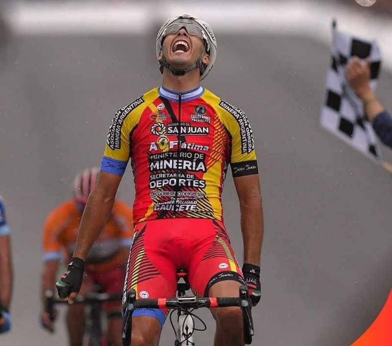 Nicolás Tivani takes the Stage 6 Victory