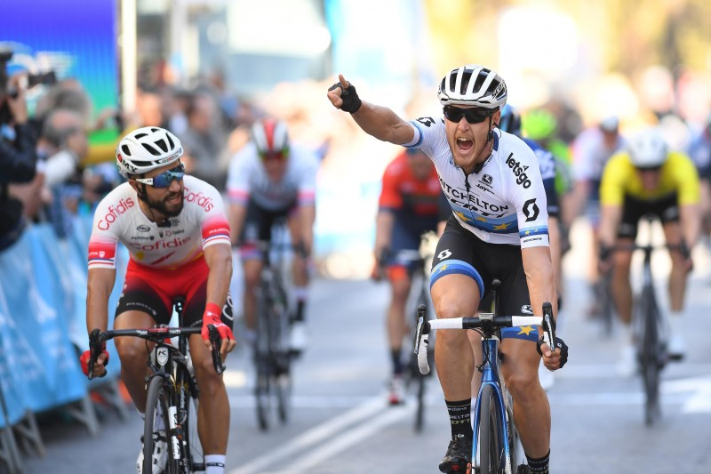 Trentin takes the first European Win of the Season for Mitchelton-SCOTT at the Volta a la Comunitat