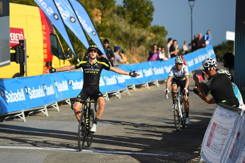 Adam Yates steals the Victory on the Queen Stage at the Volta a la Valenciana