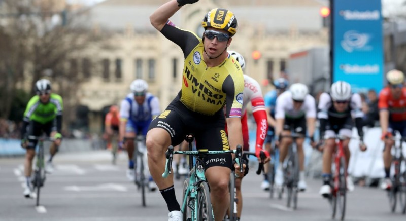 Groenewegen Sprints in Valencia to First Victory for Team Jumbo-Visma