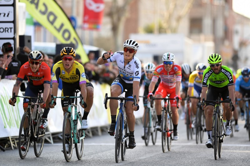 Trentin Blasts to his Second Victory of the Season on Stage Two in Ruta del Sol