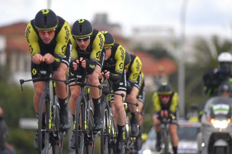 Mitchelton-SCOTT Power to TTT Victory in Tirreno-Adriatico