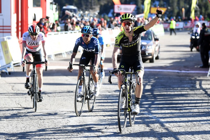 Adam Yates Climbs to Victory on the First Mountain Top Finish in Volta Ciclista a Catalunya