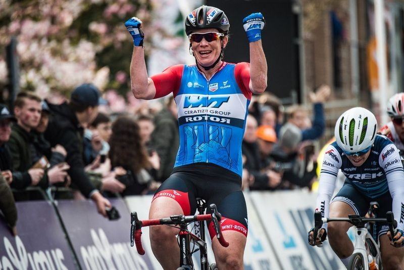 Kirsten Wild Makes History to Win Gent-Wevelgem