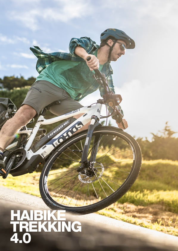 Discover the New Haibike Trekking 4.0